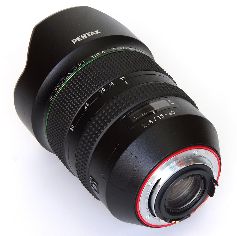 Pentax 15 30mm Rear Oblique View
