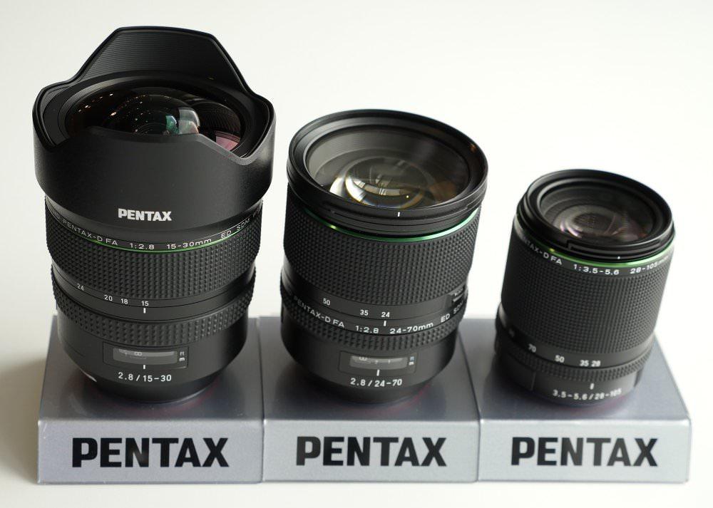 Pentax 15 30mm Vs 24 70mm Vs 28 105mm Size (3)