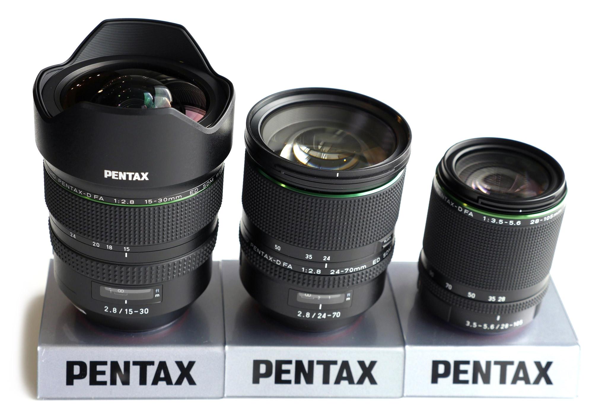 pentax ff fa lenses 24 70mm
