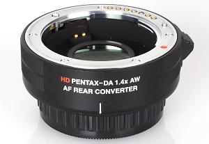 Pentax HD P-DA AF 1.4X AW Rear Converter Review