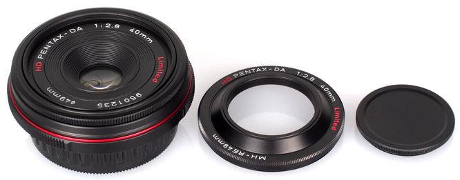 HD Pentax DA 40mm F2 8 Limited Lens Black (3)