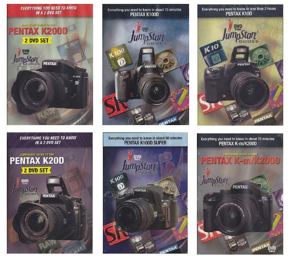 Pentax Jumpstart DVDs