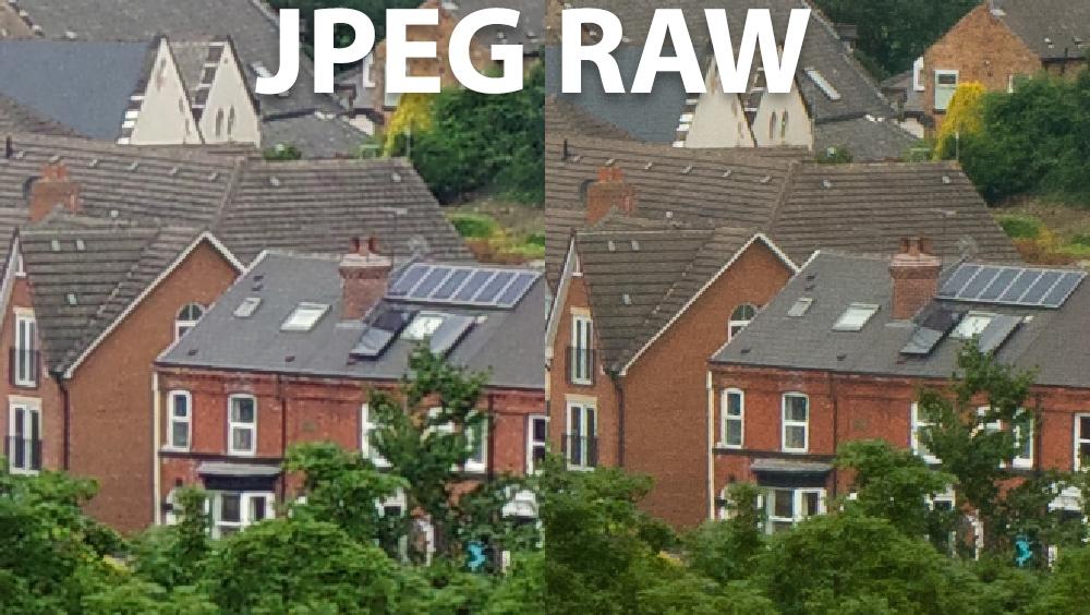 Pentax K-3 III - JPEG vs RAW