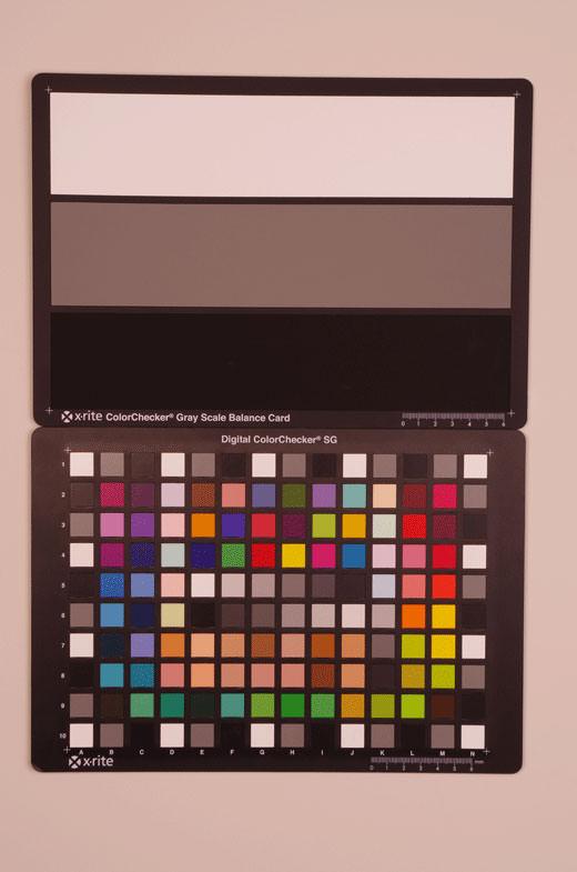 Pentax K-5 Test chart ISO100