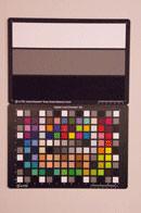 Pentax K-5 Test chart ISO25600