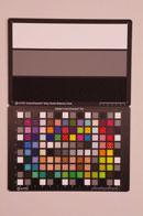 Pentax K-5 Test chart ISO6400