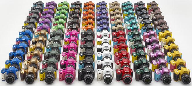 Pentax K 50 120color