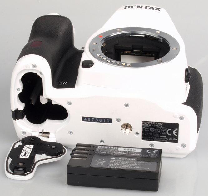 Pentax K-50 White Large (7)