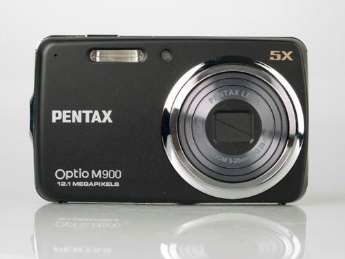Pentax Optio M900 front