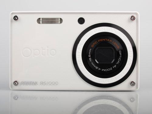Pentax Optio RS1000 front