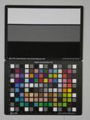 Pentax Optio RS1000 Test chart ISO100