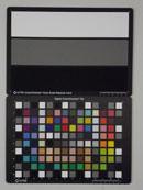 Pentax Optio RS1000 Test chart ISO3200