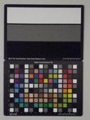 Pentax Optio RS1000 Test chart ISO6400
