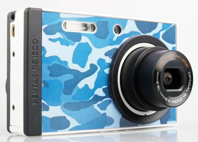 Pentax Optio RS1500 front lens