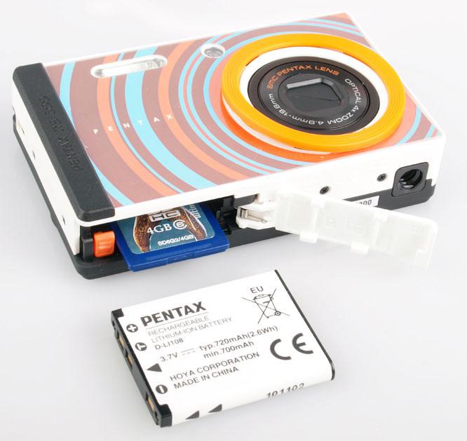 Pentax Optio RS1500 battery