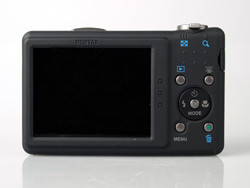 Pentax Optio RZ10 rear