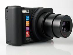 Pentax Optio RZ10 lens
