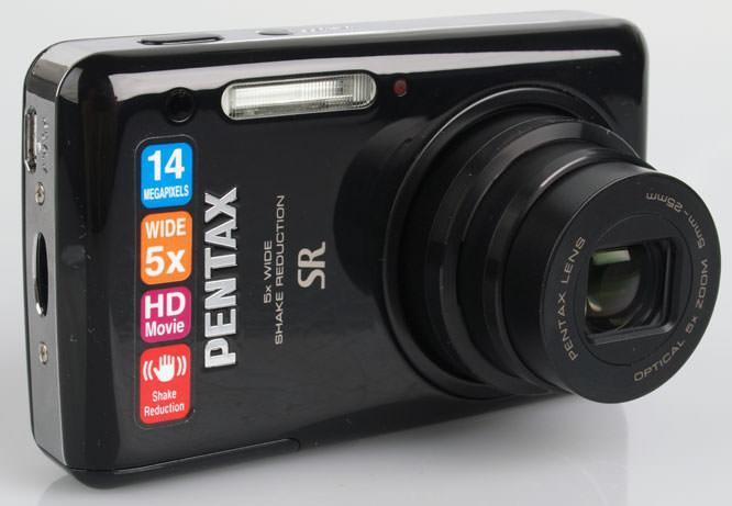 Pentax Optio S1 front lens