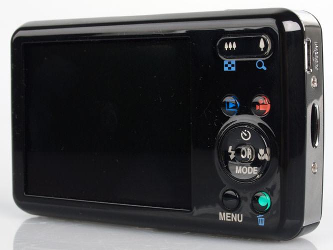Pentax Optio S1 rear