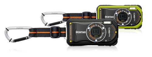 Pentax Optio W90 digital compact camera