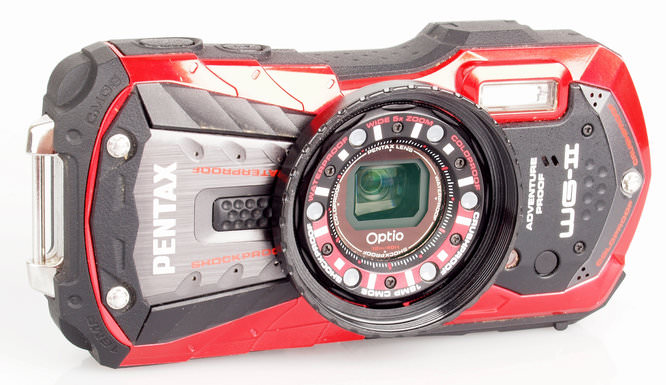 Pentax Optio Wg-2 Front 2