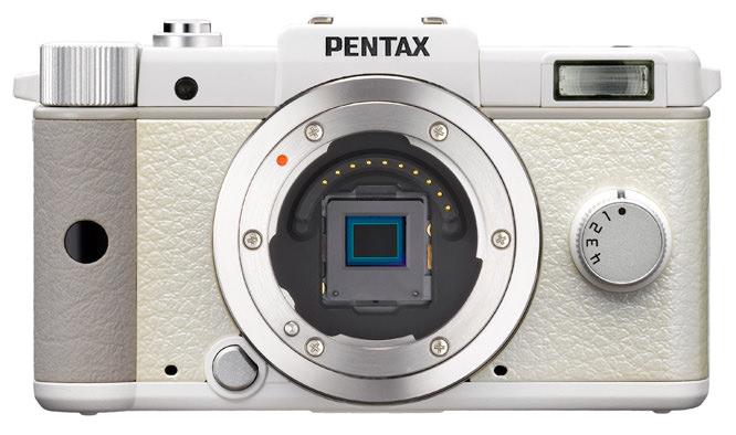 Pentax Q System Sensor Exposed