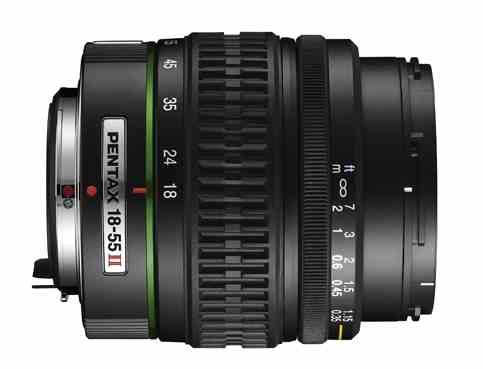 Pentax SMC DA 18-55mm II f/3.5-5.6 ED AL (IF)