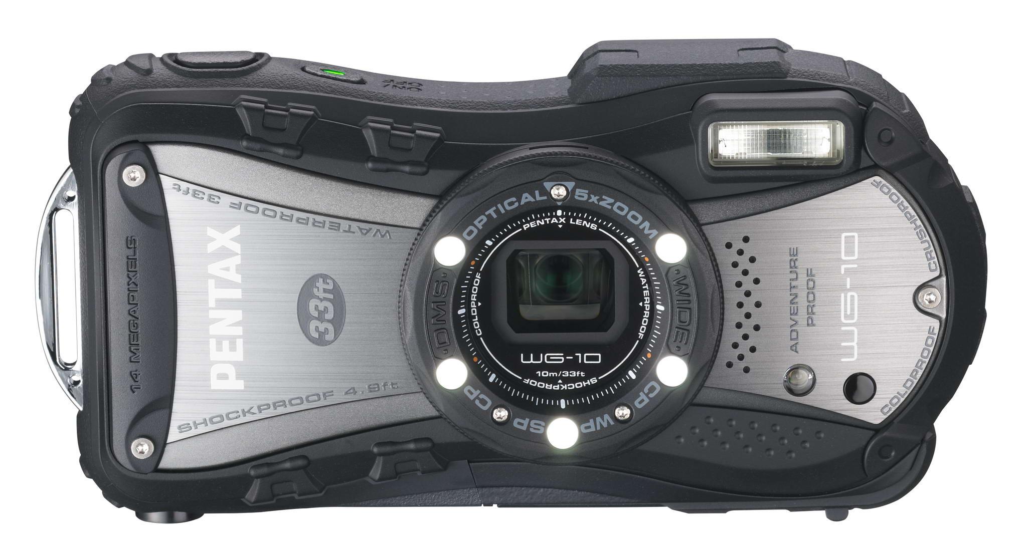 Pentax WG-10 Waterproof Digital Compact Camera