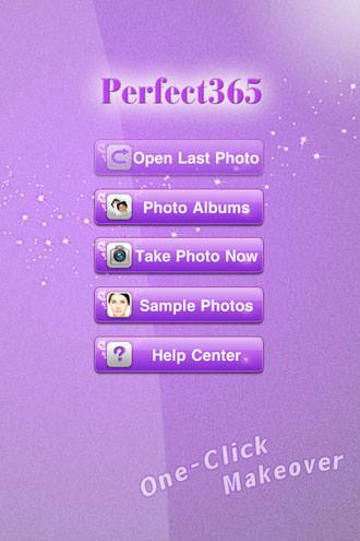 Perfect365 iOS App Screenshot