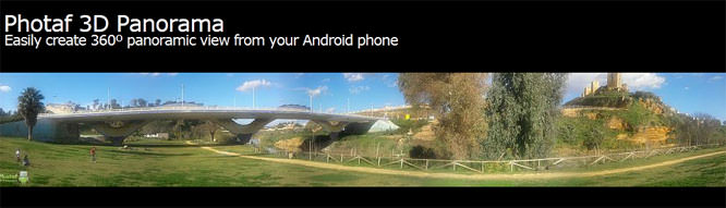 Photaf 3D Panorama Pro Android App