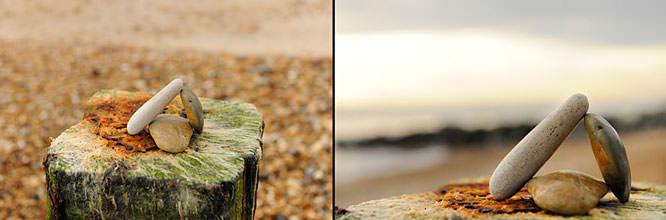 Pebbles, beach