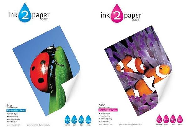 ink2paper paper packs