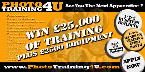 Photo Training 4 U Apprentice Competition