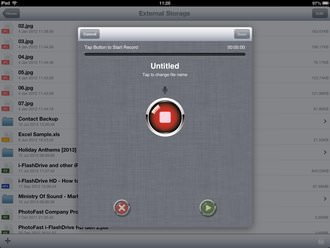 Photofast I Flashdrive Hd Ipad App Screenshot 15