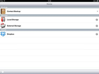 Photofast I Flashdrive Hd Ipad App Screenshot 1