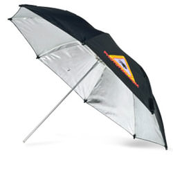 Photoflex adjustable reflective umbrellas