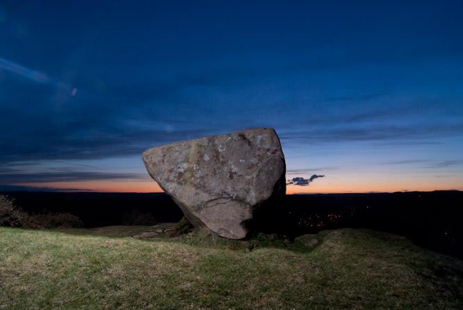 Rock at Baslow using TritonFlash