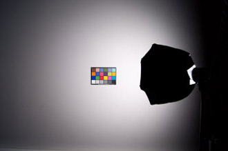 Coverage using Photoflex TritonFlash with OctoDome and baffle