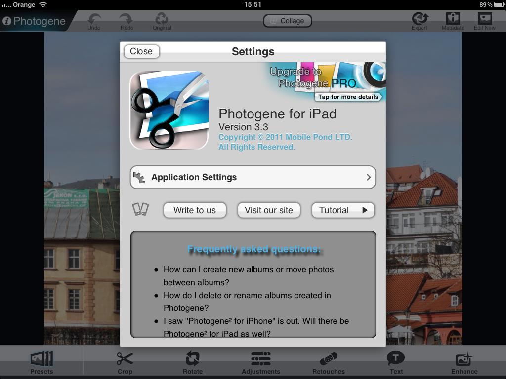 Photogene For iPad App Review | ePHOTOzine