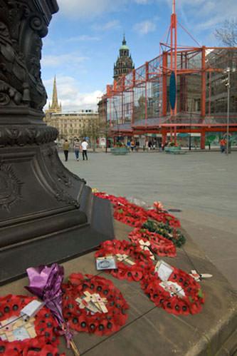 Remembrance day war memorial