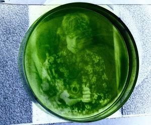 Photographer Prints Photo On Algae At Home