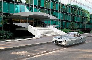 Photographer Transforms Classic Cars Into Futuristic Hovercrafts