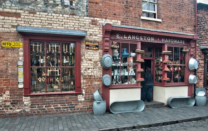 Interesting shop fronts