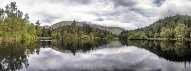 Glencoe Lochan Panorama