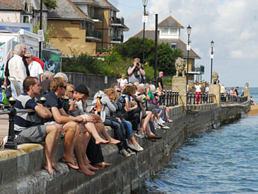 Photo of People at Cowes Week by Polly Harris