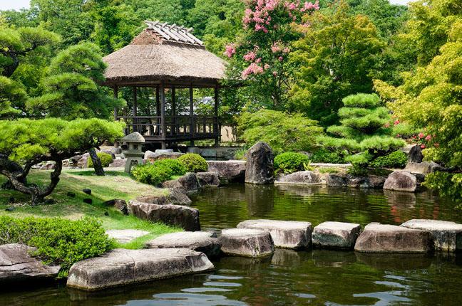 Photography tips for formal gardens for Formal japanese garden
