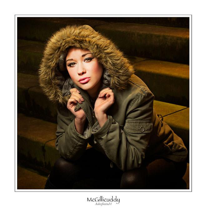 Model shot by Damian McGillicuddy