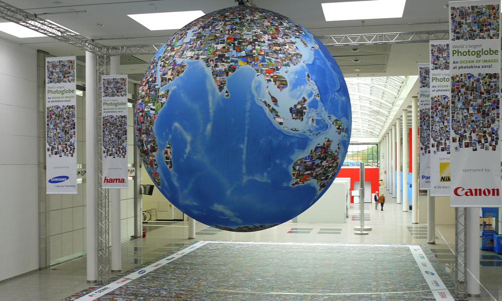 Photokina Photo Globe 2012