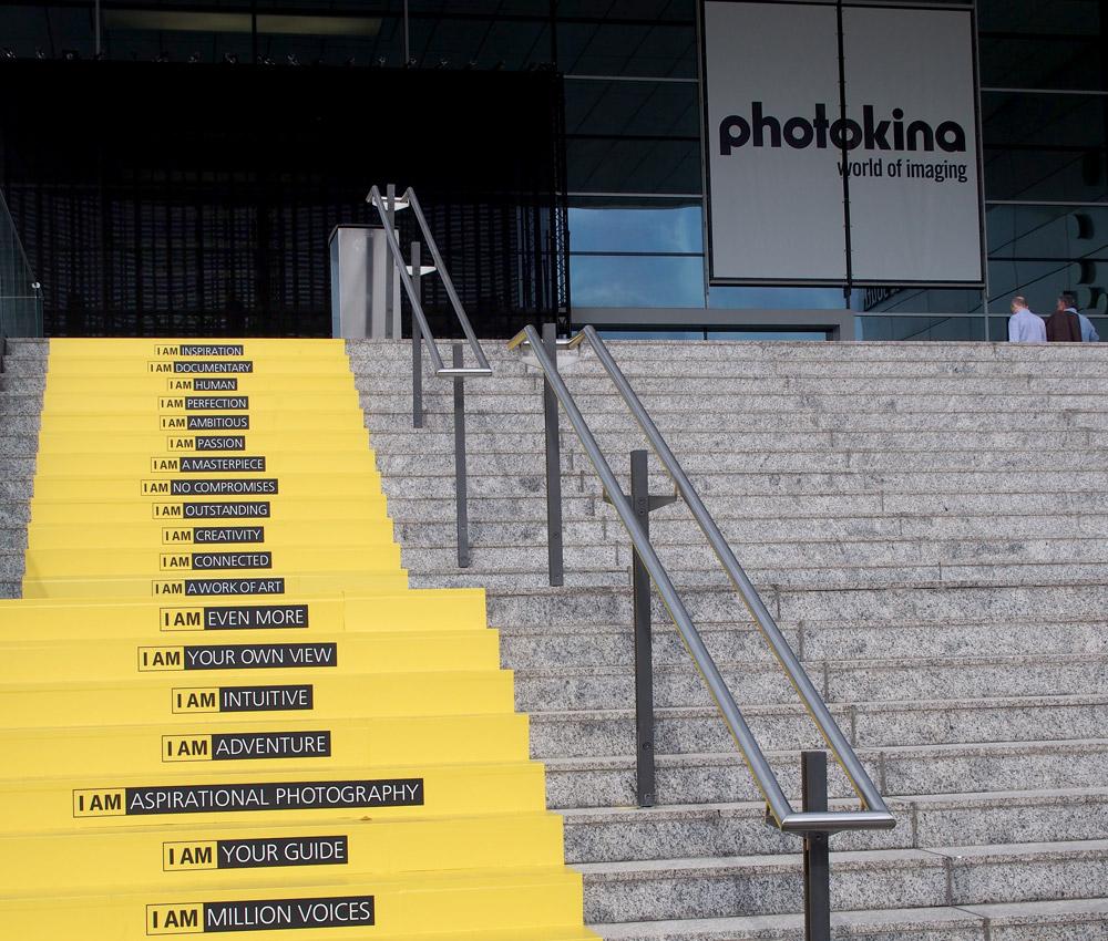 Nikon Steps at Photokina