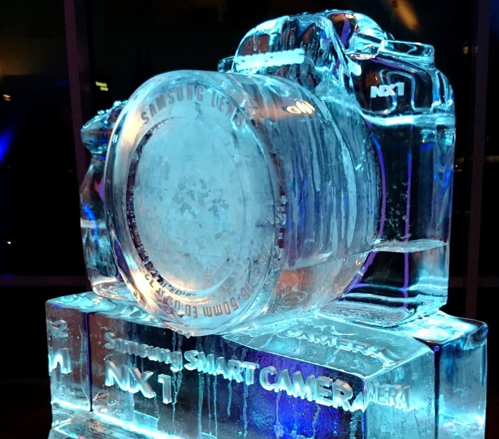 Samsung NX1 Made Of Ice